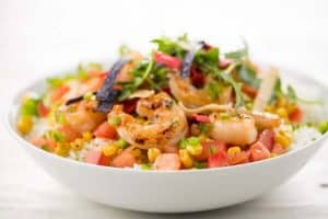 Home Chef Baja Shrimp Bowl